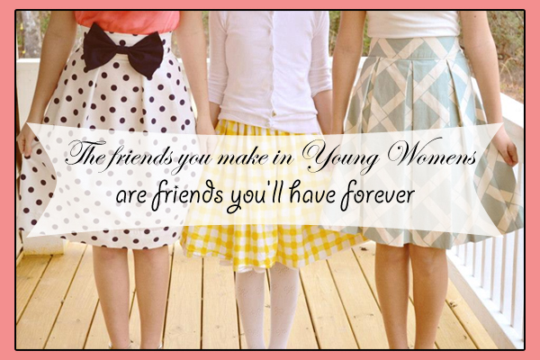 Friends Forever LDS Young Womens Ecard